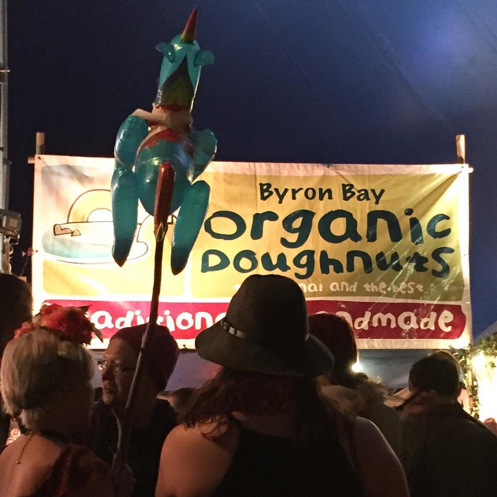 Doughnut time at Splendour in the Grass Byron Bay SITG15hellip