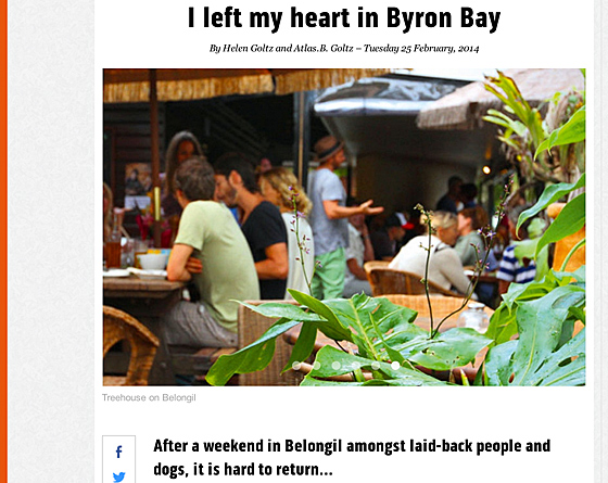 bmag bmag : I left my heart in Byron Bay