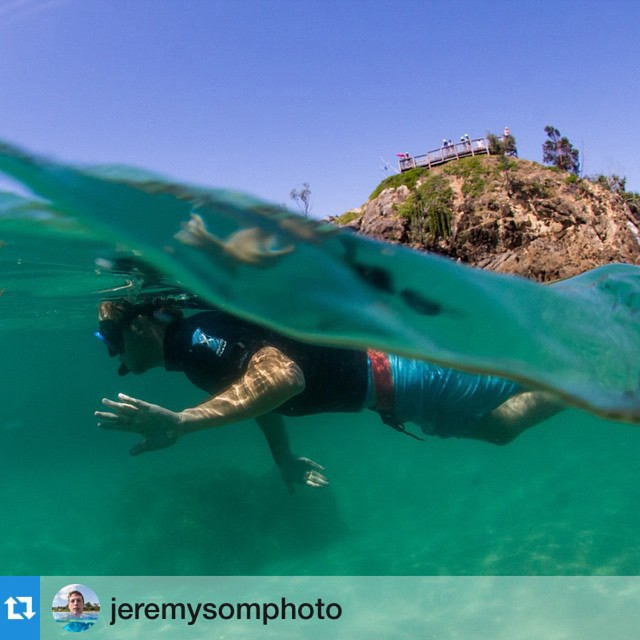 Nice day for it Byron Bay... Repost @jeremysomphoto ・・・
