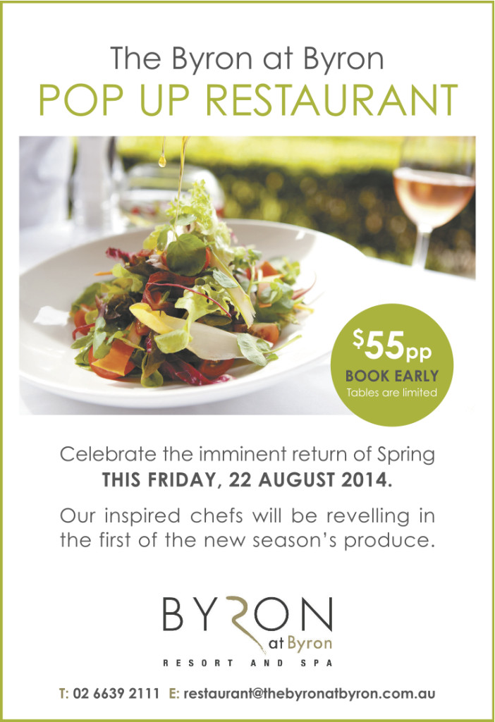 bb 702x1024 The Byron at Byron Pop Up Restaurant August 22