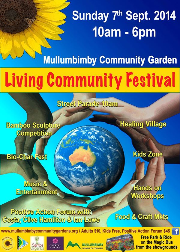 livingcommunity The Living Earth Festival September 1