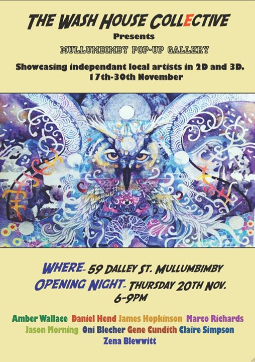 10599491 10152940063723313 7234708921581500707 n Mullumbimby Pop Up Gallery November 17 30