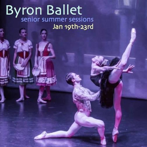 1625687 864188536965698 173041759164337434 n Byron Ballet Senior Summer Sessions On Now: Jan 19   23