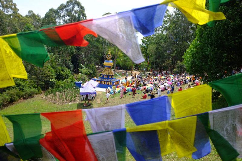 Stupa-Ceremony