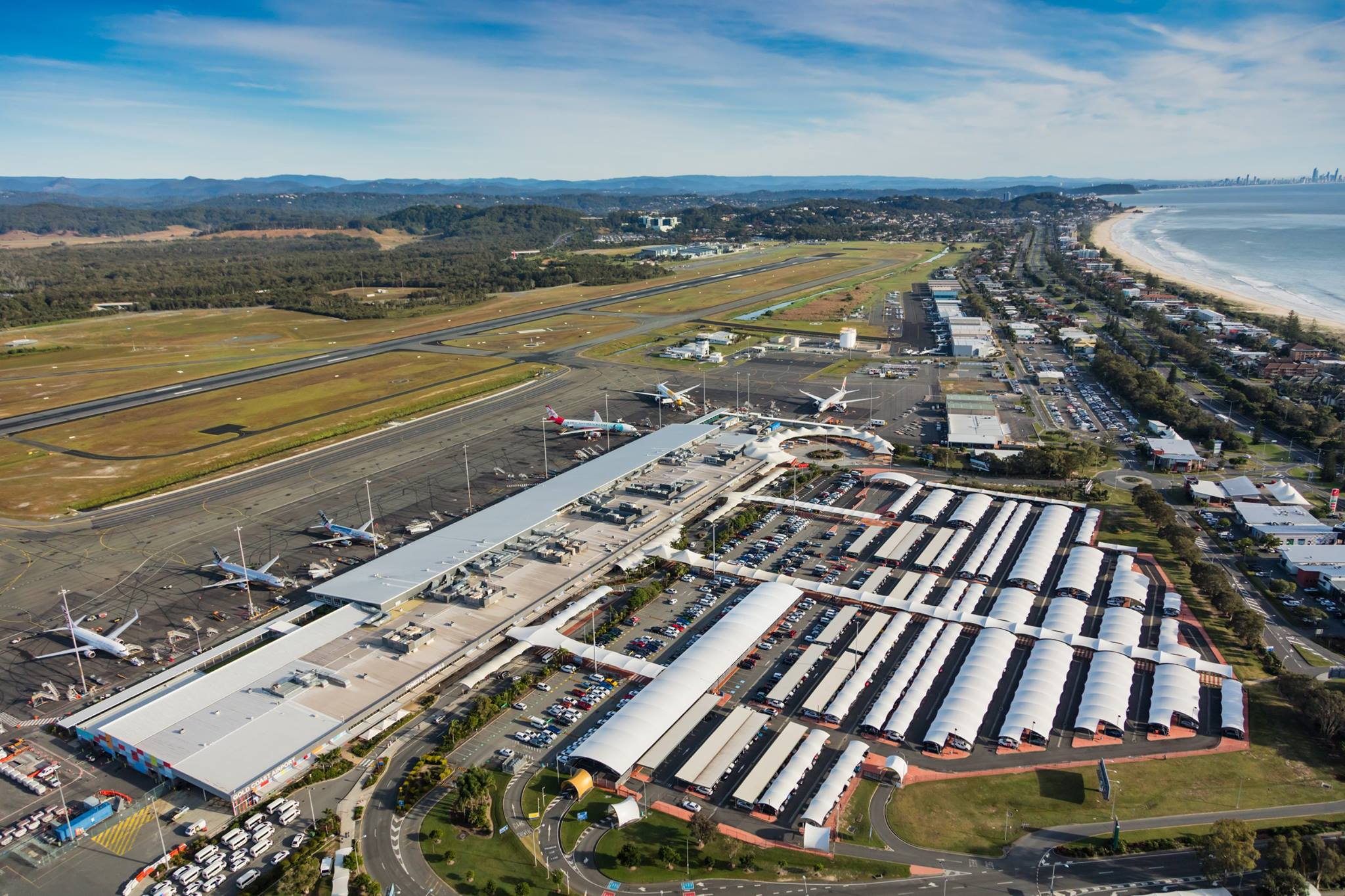 Gold Coast Airport Records Busiest Day In History Byron